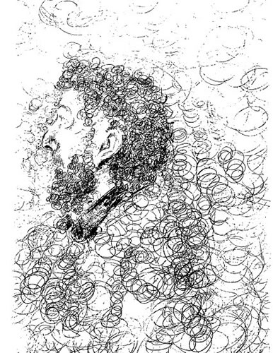 John sketched by Robert Pettigrew