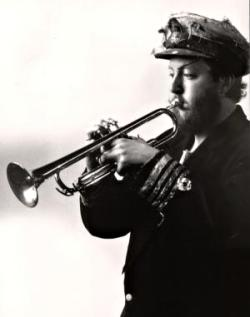 John with Trumpet